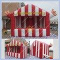 Venda quente Casa Barraca Inflável para Batatas Fritas, vermelho Estande Inflável, Casa Inflável com CE Livre/UL Blower, DHL Frete Grátis