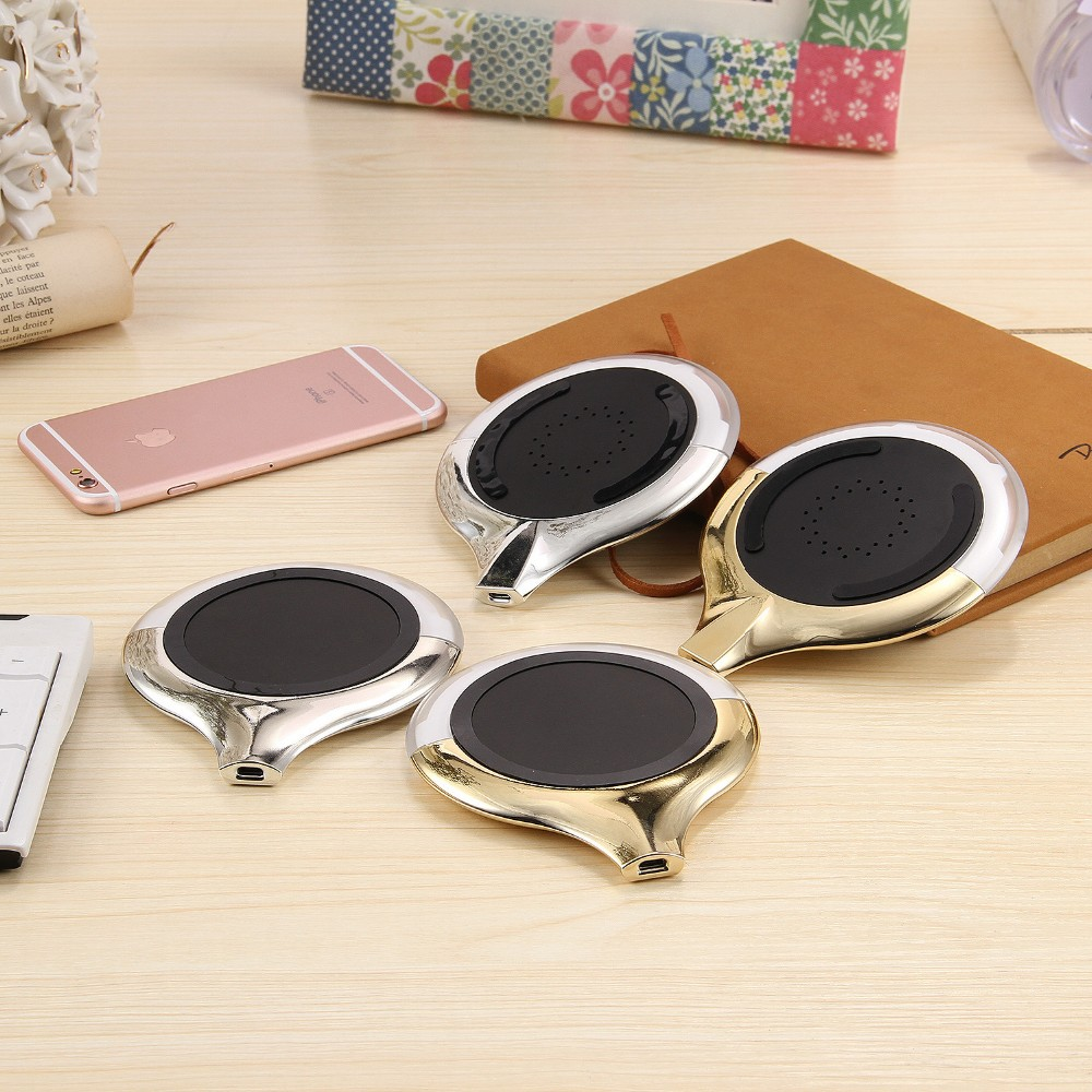 WL027 Wireless Charging Pad Qi Wireless Charger (3)