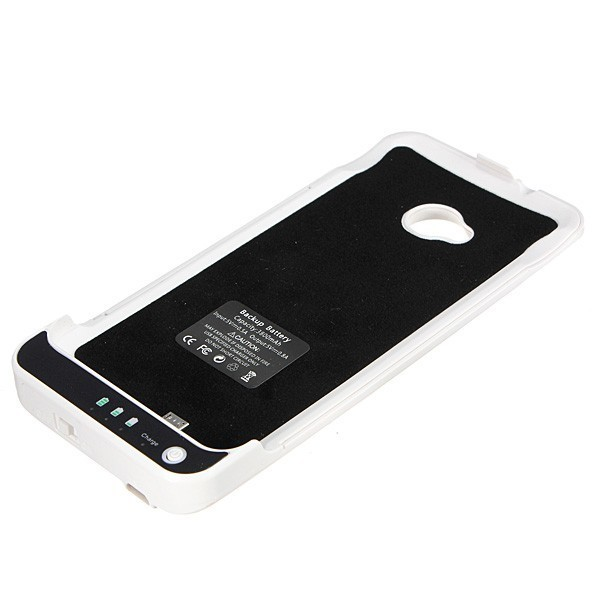 quality design a68be f90a8 US $28.59 |3800Mah For HTC One M7 Power Case External Battery Backup  Charger Power Bank Power Case for HTC M7 Battery Case Black White-in  Battery ...