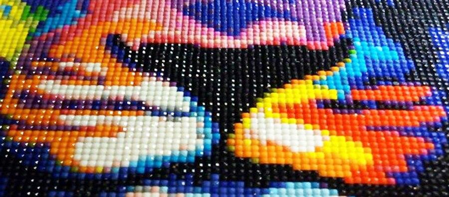 5d diy diamante bordado fantasia arte abstrata