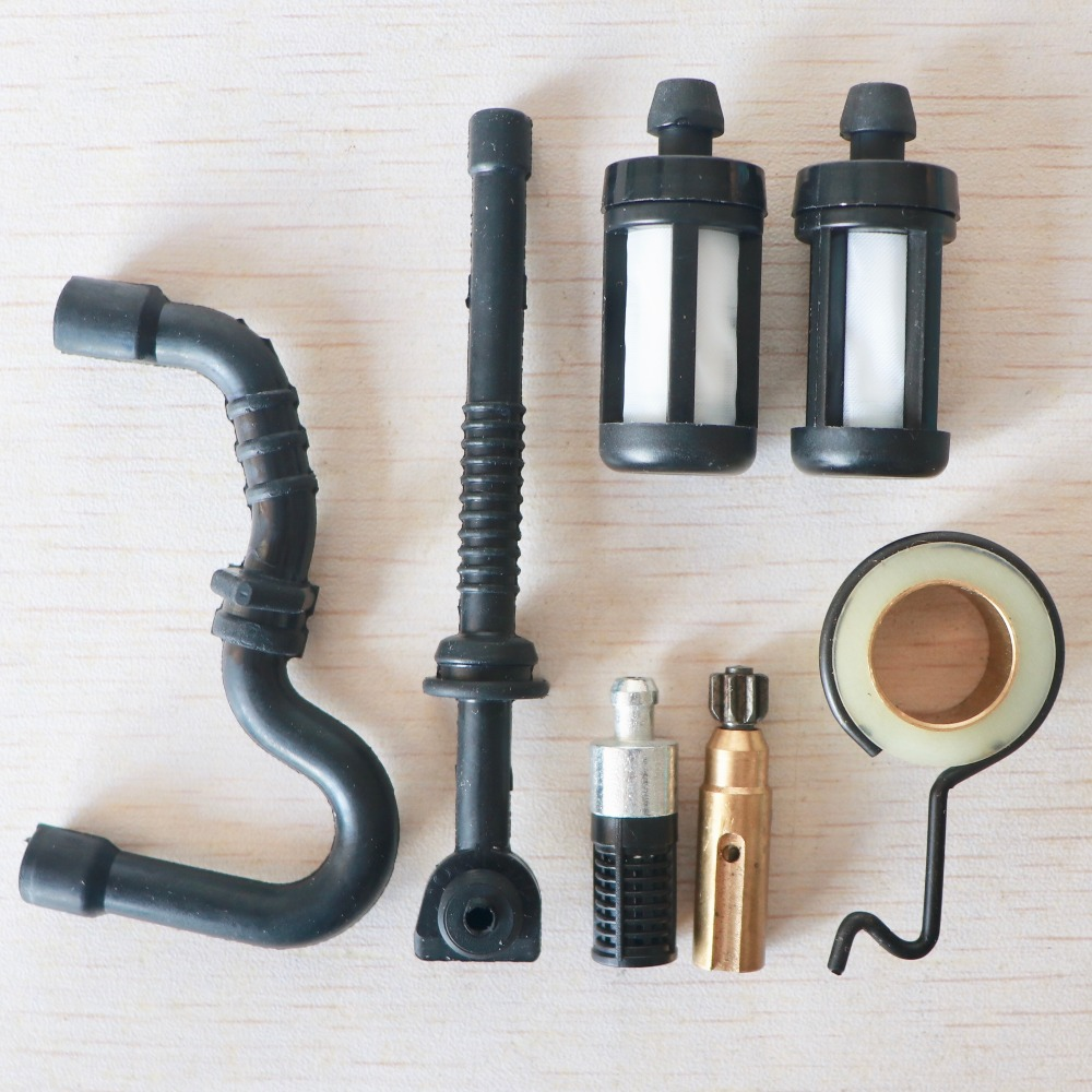 Oil Pump Worm Gear Fuel Oil Hose Line Filter Kit For STIHL MS 180 170 MS180 MS170 017 018 Chainsaw Replacement Parts