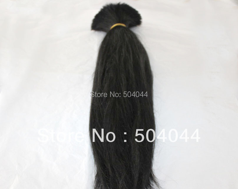 100% huamn remy Hair bulk Extension 1KG/lot length available 18 20 22 24 26 28 30 32 all colors