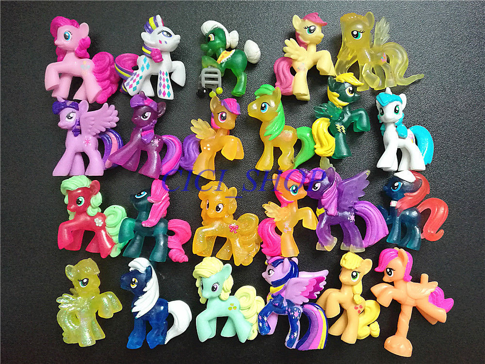 цена 15pcs Random My Pet Little Friendship Is Magic Mlp Toy