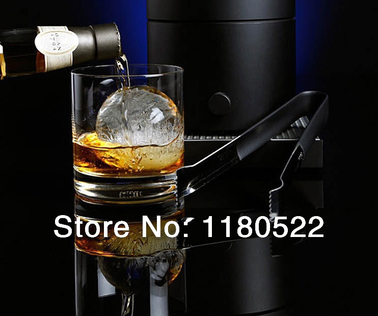 Creative 7.5 cm 6 PCS Rolling Ice Ball mold Makes/ Whiskey ice cubes silicone tray/ lattice ice box/