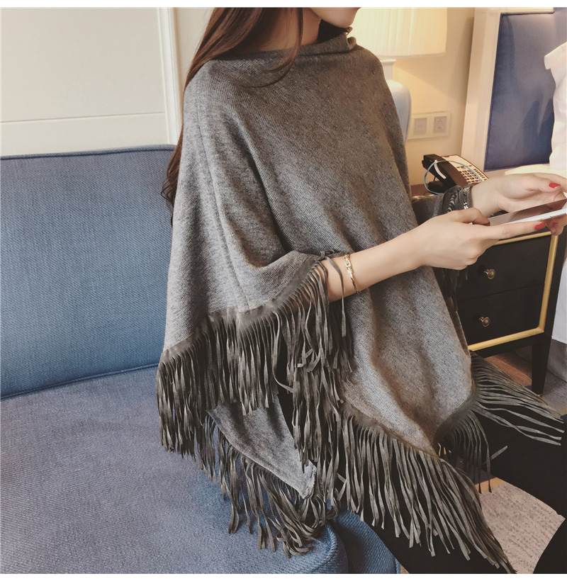 Poncho Women Winter Wool Ponchos And Capes Fall 2016 Women Poncho Cape Shawl Pullover Cardigan Womens Capes And Ponchoes