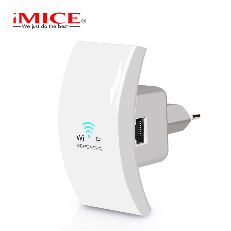 iMice Mini WIFI Repeater Wireless WiFi Extender 802.11n/b/g 300Mbps Signal Booster Mini Wi-Fi Range Extender Amplifier Repeater цена