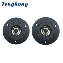 Tenghong 2 pcs 3 אינץ אודיו רמקול 4Ohm 10 W טרבל רמקול סטריאו רמקול 74mm Tweeter עבור קולנוע ביתי DIY