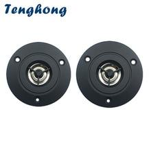 Tenghong 2pcs 3 Inch Audio Speaker 4Ohm 10W Treble Speaker Stereo Loudspeaker 74mm Tweeter For Home Theater DIY