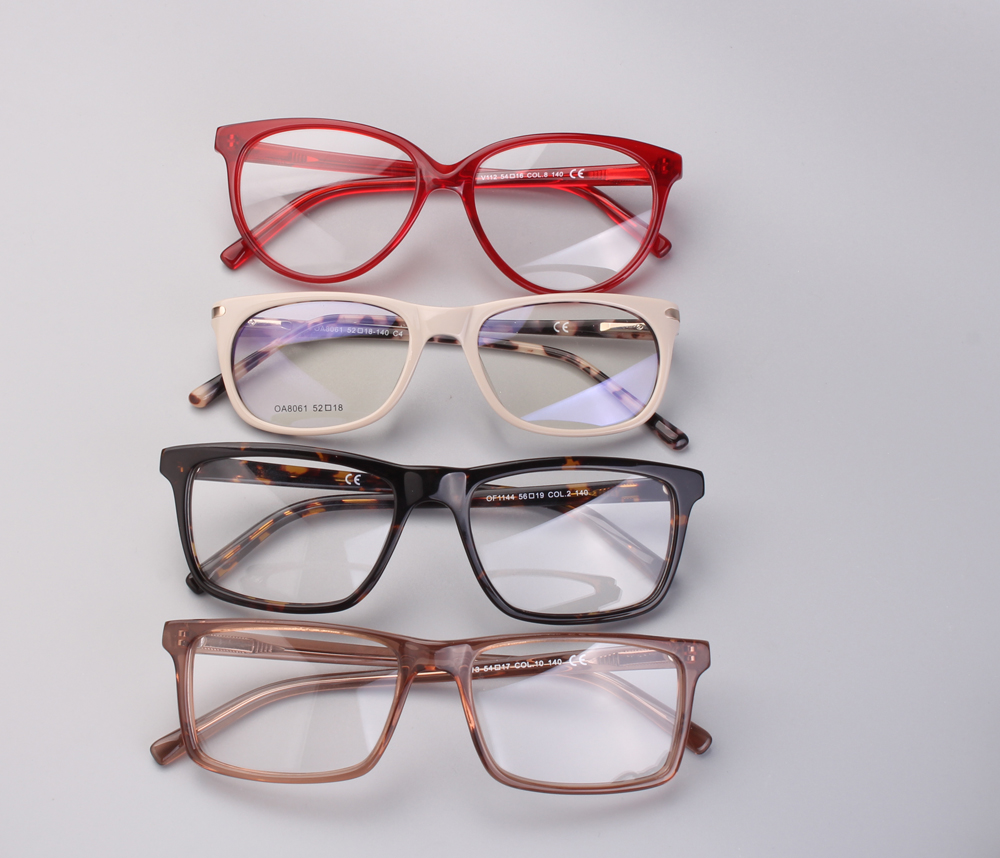 017163c888e Mix wholesale models Fashion glasses clear glass brand optical ...
