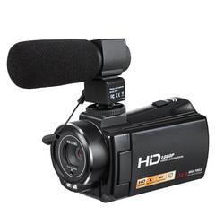 Professional Video Camera Digital Camcorder DVR HDV-V7 24MP 3.0 1080P HD Video Recorder DIS Face & Smile Detection