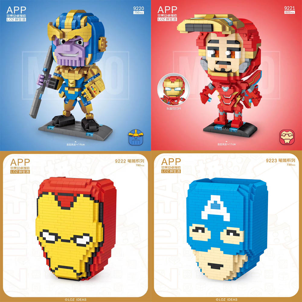 Thor LOZ Nano Mini Diamond Building Blocks Toy Hero Thor UK SELLER TAX PAID