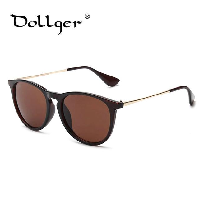 4c7eef7e53b Dollger summer style vintage sunglasses women brand designer Cat Eye Round  Glasses Metal Frame Sunglasses Fashion glasses s1389