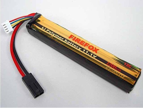 HK register free shipping~100% Orginal Firefox Li Polymer battery 11.1V  1200mAh 12C