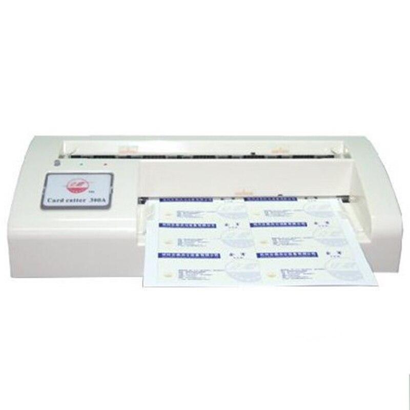 300B Automatique Nom Carte Dcoupeuse De Visite Machine Dcoupe Coupe La Dans Outil Pices Outils Sur AliExpress