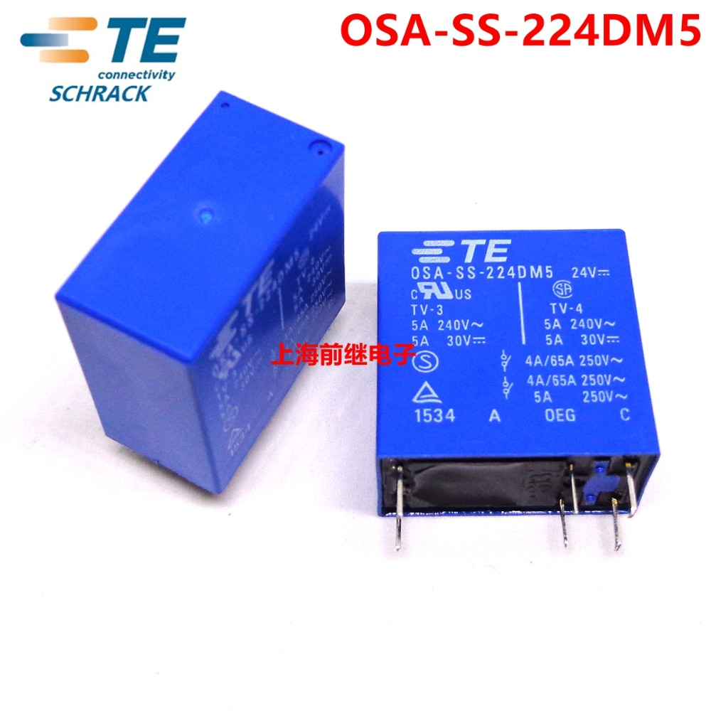 Image 3 - 10PCS TE TYCO Relay OSA SS 224DM5 24VDC relay Brand new and original-in Relays from Home Improvement