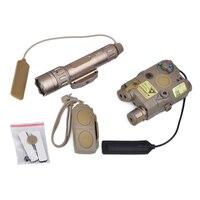 Фонарик Охотного оружия PEQ 15 ИК лазерный свет WMX200 светодиодный стробоскопический фонарик Peq15 двойной пульт дистанционного управления подхо