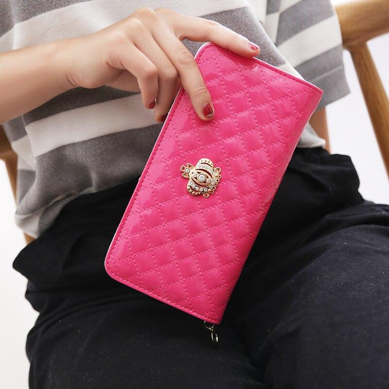 longo carteira crown purse mulheres Peso do Item : 0.17kg