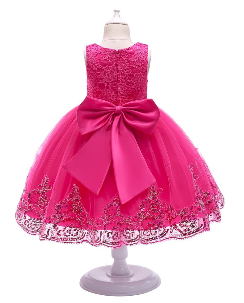 2019 Girls Dress Unicorn Party Children Princess Dress Fluffy New Year Dress Girls Christmas Costume Kids Dress Sleeveless Vest 9