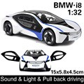 1:32  Free shipping kids gift  toy cars model for children cars miniatures pull back car b-mw
