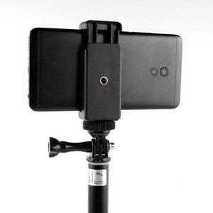 Image 4 - 휴대 전화 클립 마운트 브래킷 클램프 삼각대 어댑터 이동 프로 아이폰 xiaomi 화웨이 selfie 스틱 monopod 막대 홀더 액세서리
