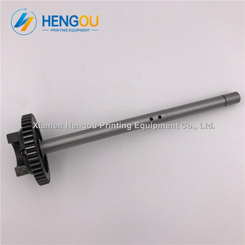 2 pièces Hengoucn CD102 SM102 arbre de vitesse de rouleau d'eau S9.030.210F avec 44 theeths Hengoucn pièces d'impression