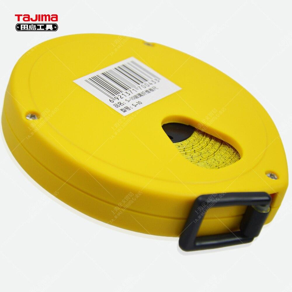 tajima tajima japanese fiberglass tape measure 10 meters 20 meters 30 meters 50 meters wearable hand closing ceremonyin tape measures from home improvement
