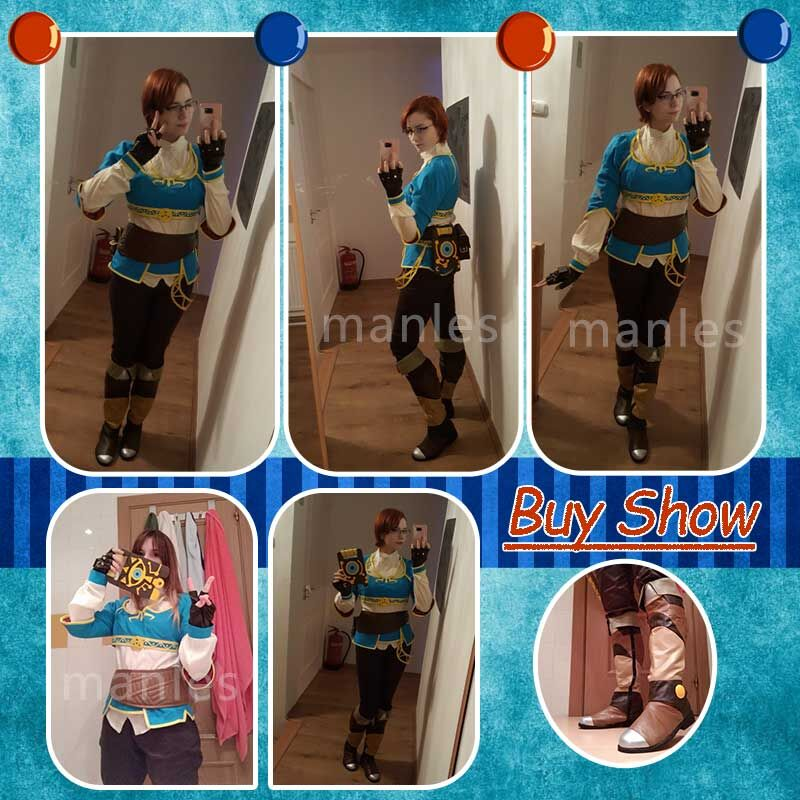 Image 3 - Cosplay The Legend of Zelda Breath of the Wild  Anime Princess Zelda Halloween Costume Carnival Suit Adult For Women Custom Made-in Game Costumes from Novelty & Special Use