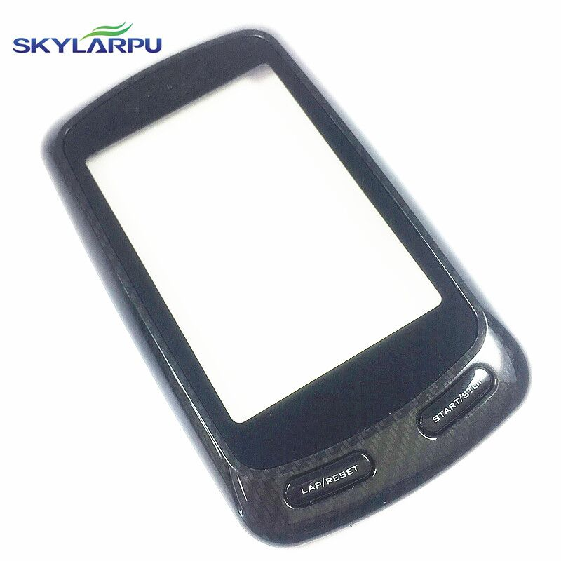 skylarpu Capacitive Touchscreen for Garmin Edge 800 GPS Bike Computer Touch screen digitizer panel (with Black frame) replacement lcd digitizer capacitive touch screen for lg vs980 f320 d801 d803 black