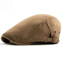 HT1580 2018 nuevas viseras gorra de boina de algodón sombreros para hombres  y mujeres de conducción Ivy sombrero de sol Planas g. c8b4e9110fc