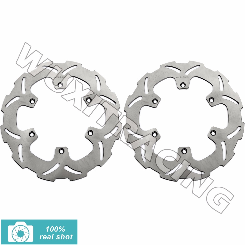 1989 1990 1991 1992 1993 1994 1995 1996 1997 1998 99 00 Motorcycle New Front Brake Discs Rotors for YAMAHA XTZ 750 SUPER TENERE free shipping motorcycle accessories modified for honda cb400 1992 1998 vtec 99 07 new high water pump assembly
