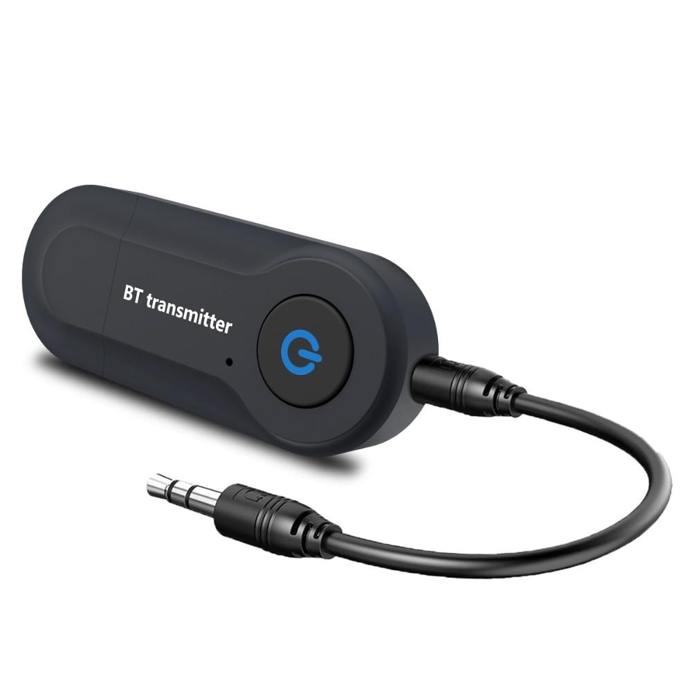 USB Car Bluetooth Adapter 3.5mm Jack Ricevitore Bluetooth Wireless Bluetooth AUX Audio MP3 Music Player Vivavoce Strumento per auto