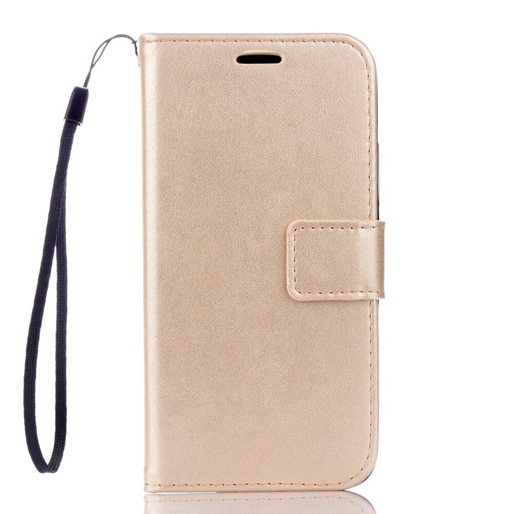 Цена за 50 шт./лот Бесплатная доставка Crazy Horse wallet кожа + ТПУ Стиль чехол с держателем карты для Huawei Y6