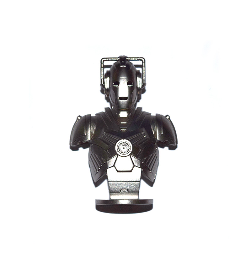 Dr. Doctor Who Cyberman Bust 3