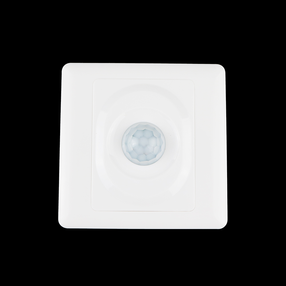 3PCS Automatic PIR Infrared Motion Sensor Switch for Home LED light 100V-250V 200w Human Body Induction Motion 86*86 infrared pir motion sensor switch for led light strip automatic dc 5v 30v 10a h028