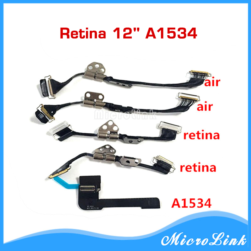New LCD Cable for Macbook A1370 A1369 A1465 A1466 A1425 A1502 A1398 A1534 LCD Flex Cable 821-00318-01 821-00318-A