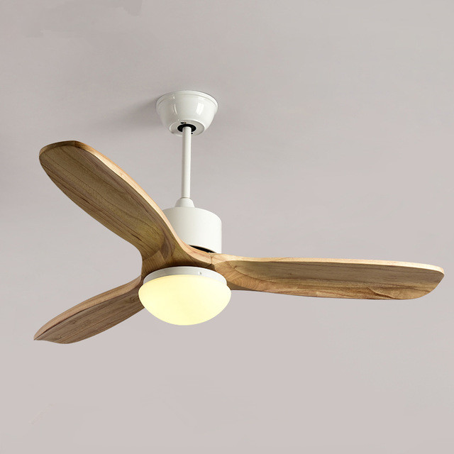 2018 New Ceiling Fan For Living Room Ventilador de techo Ceiling fans with Lights 48 Inch Modern Cooling Fan Fixtures