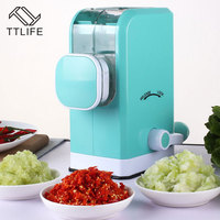 TTLIFE New Design Creative Household Multi Functional Meat Vegetable Grinder Manual Meat Mincer Vegetable Chopper Kitchen Tools