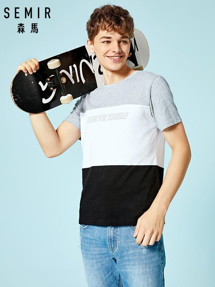 SEMIR   T     Shirt  , Student   T     Shirt  , Funny Short Sleeves   T     Shirts   Mens   T  -  Shirts   Round Neck 100% Cotton Top tees