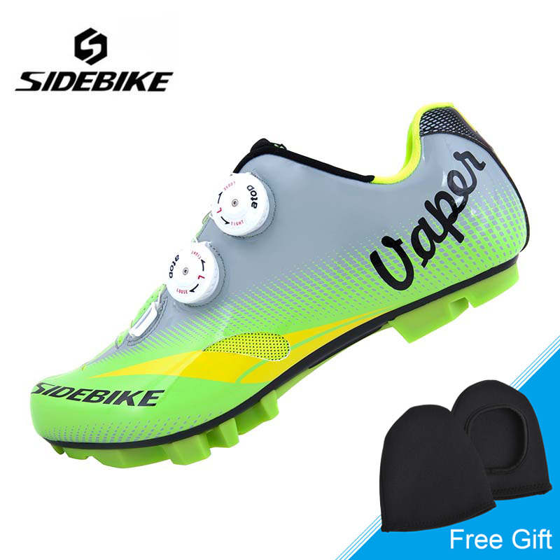 Sidebike High Quality Men Cycling Shoes Breathable Ultralight Bike Shoes MTB Bicycle Shoes Auto-lock Shoes Zapatillas Ciclismo mountain bike four perlin disc hubs 32 holes high quality lightweight flexible rotation bicycle hubs bzh002