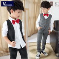 Spring 2016 children's wear a vest three children to manufacturers selling dress suit for boys