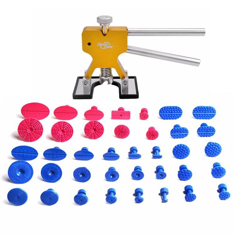 Melhores Ferramentas de PDR Paintless Dent Repair Tools Dent Remoção Dent Extrator Tabs Hand Tool Set Ferramentas Kit De Ferramentas de PDR Dent Lifter