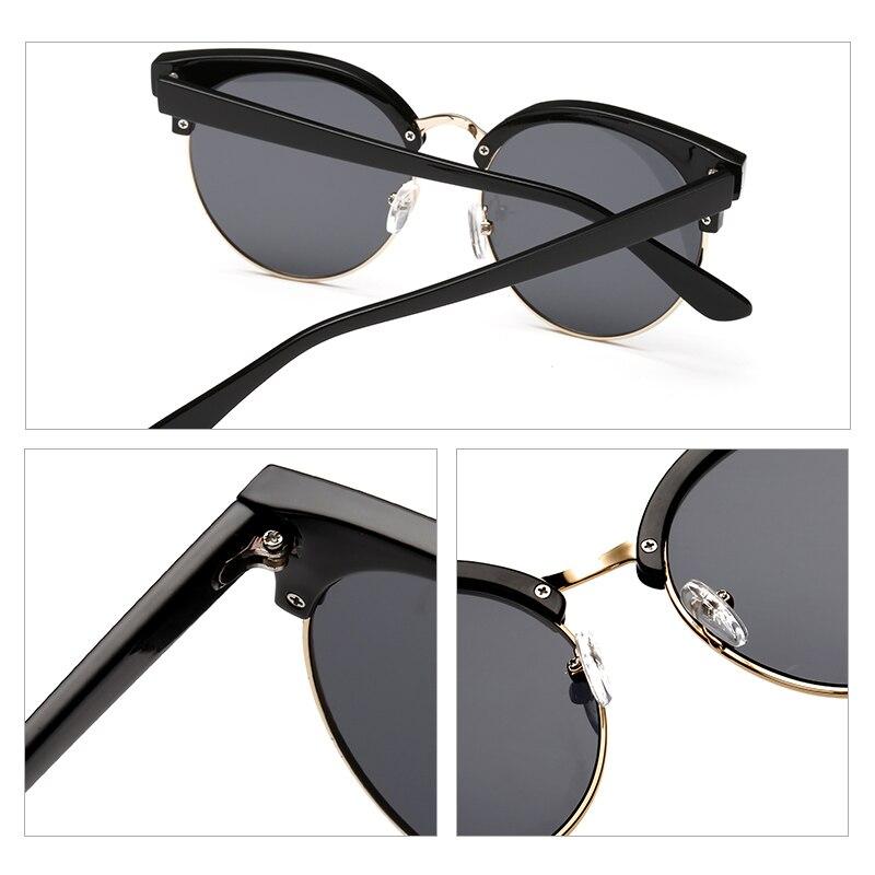 e5ddcd006e Eyefit Semi sin montura gafas de sol redondas mujeres Vintage 2015 gafas  moda gafas de sol de espejo para mujeres Shades Retro Oculos para mujer en  ...