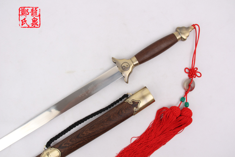 Traditional Tai Ji Rose Wood Jian 4