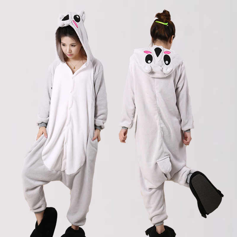 New Cheap Winter Koala Pajama sets Women onesie pajama kigurumi onesies  adults Homewear Animal Pajamas Cartoon e002ce9ff