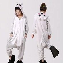 Новые дешевые зимние коала пижамы наборы для ухода за кожей для женщин onesie  пижамы кигуруми комбинезоны взрослых домашняя одеж. 2ff17e0324e44