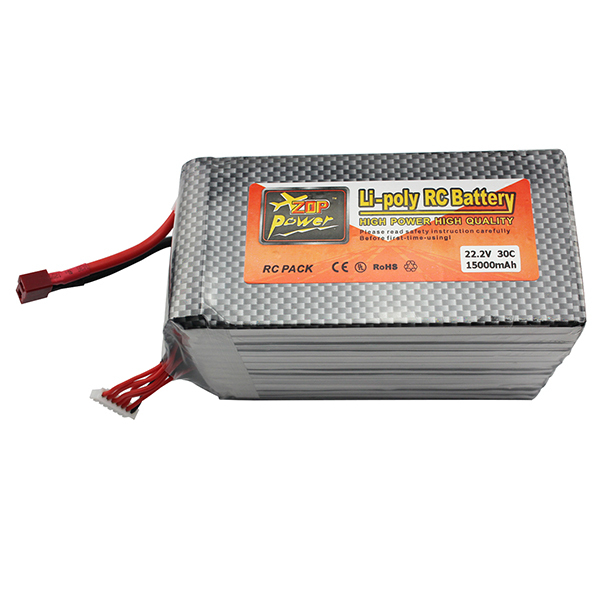 Lipo Battery 22.2V 15000mAh 6S 30C XT60 T Plug For Dji Phantom S900 Rc Helicopter Airplance Quadcopter Drone Parts Bateria Lipo