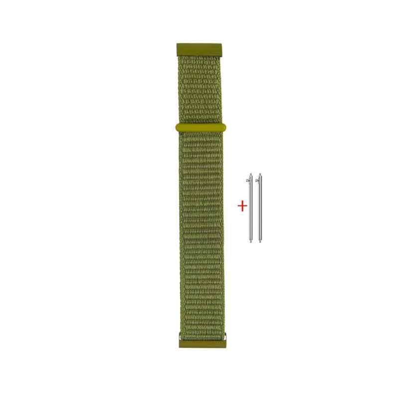 22 مللي متر Magic نايلون الاسترجاع حزام (استيك) ساعة حزام لسامسونج والعتاد S3 غالاكسي ووتش 46 مللي متر