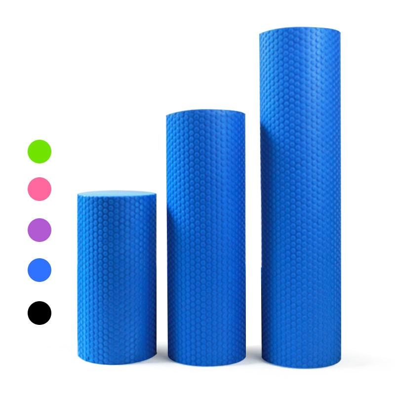 60cm x 15cm Foam Roller - Gym Exercise Fitness Floating Point EVA Yoga Pilates Roller Physio Trigger Massage 30cm, 45cm Dia 15cm