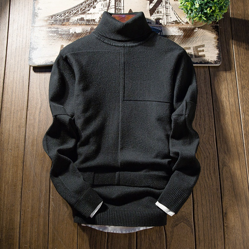 Zogaa Winter Turtleneck Cashmere Sweater Men 2019 New Fashion Men Christmas Sweater Long Sleeve Slim Fit Student Warm Pullover