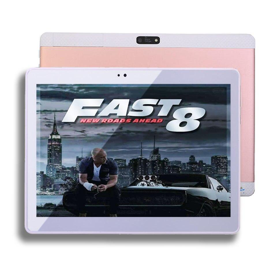 2017 BMXC Nueva 10.1 pulgadas 4G Tablet PC Cubierta Metálica Octa Core SIM tarje